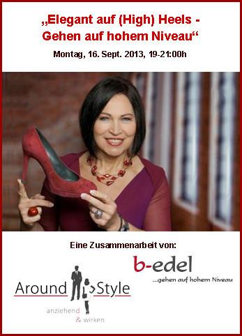 High Heels Workshop von Around Style, Starnberg, München, Gauting, Weilheim
