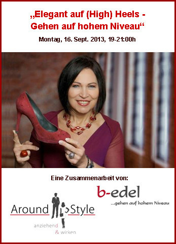 High Heels Workshop von Around Style, Starnberg, München, Gauting, Weilheim